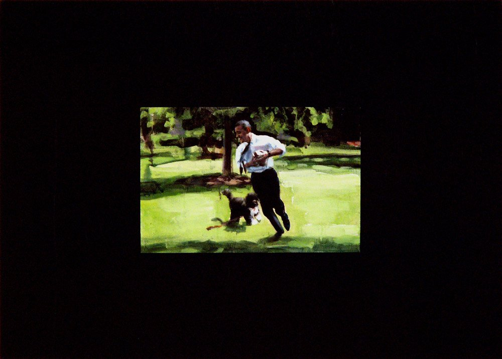 untitled (Obama And Dog)